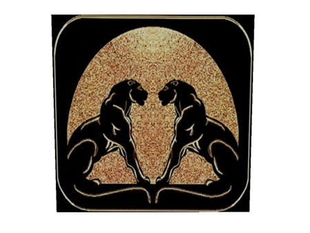 Double Panther Area Rug  $79.95