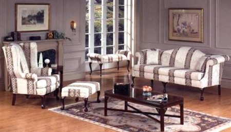 High Quality Queen Anne Sofa And Loveseat Set $1375.98 Part 9