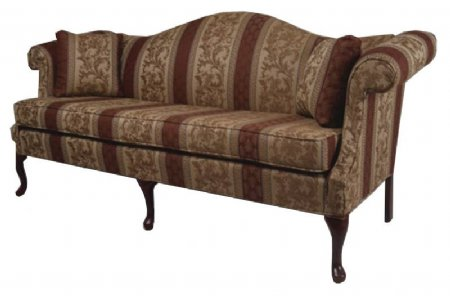 Queen Anne Sofa - Chippendale Furniture $795