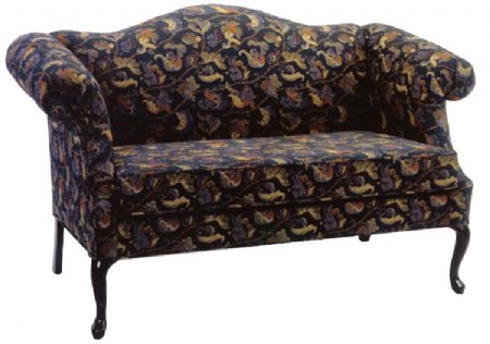 Queen Anne Loveseat  Chippendale Furniture $699