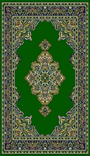Taj Mahal #101 Area Rug (6' x 8') Hunter Green $59.9