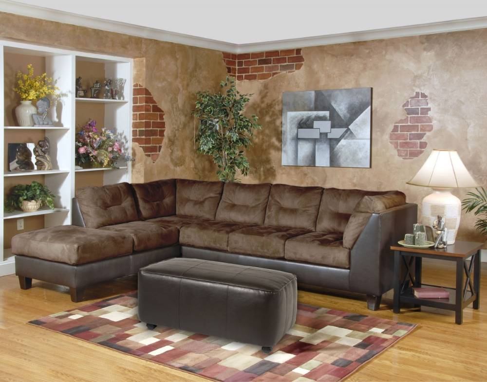 Sectional by Serta Upholstery - Padded Walnut $759.9