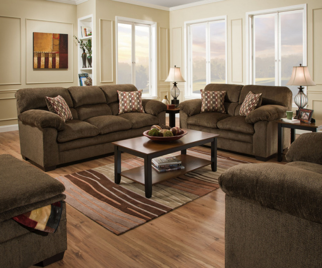 3683 Sofa and Loveseat $959
