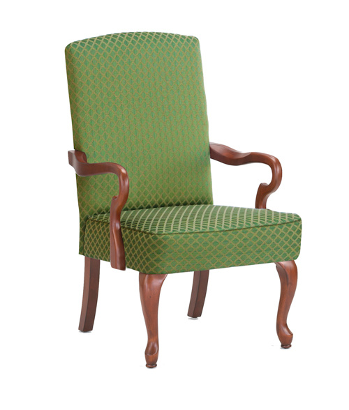 Crystal Gooseneck Arm Chair Green by Comfort Pointe $232