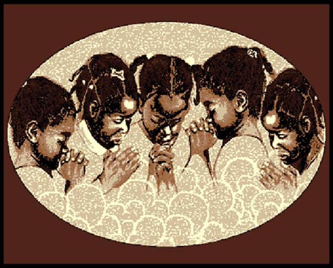 Praying Children Area Rug  $69.95