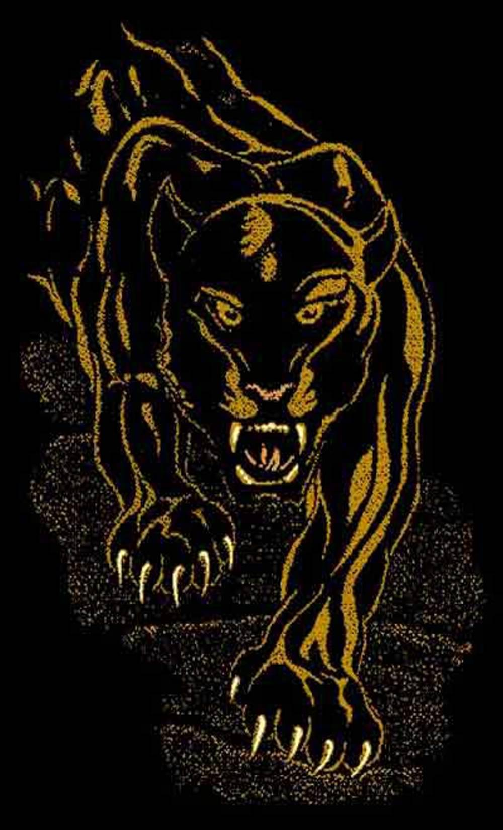 Night Panther Area Rug $59.9