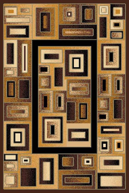 RG20 Gallery Area Rug (8' x 11') Black $189.9