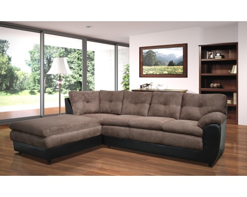 Zoey Collection Sectional Sofa - Choice of Colors $698.99