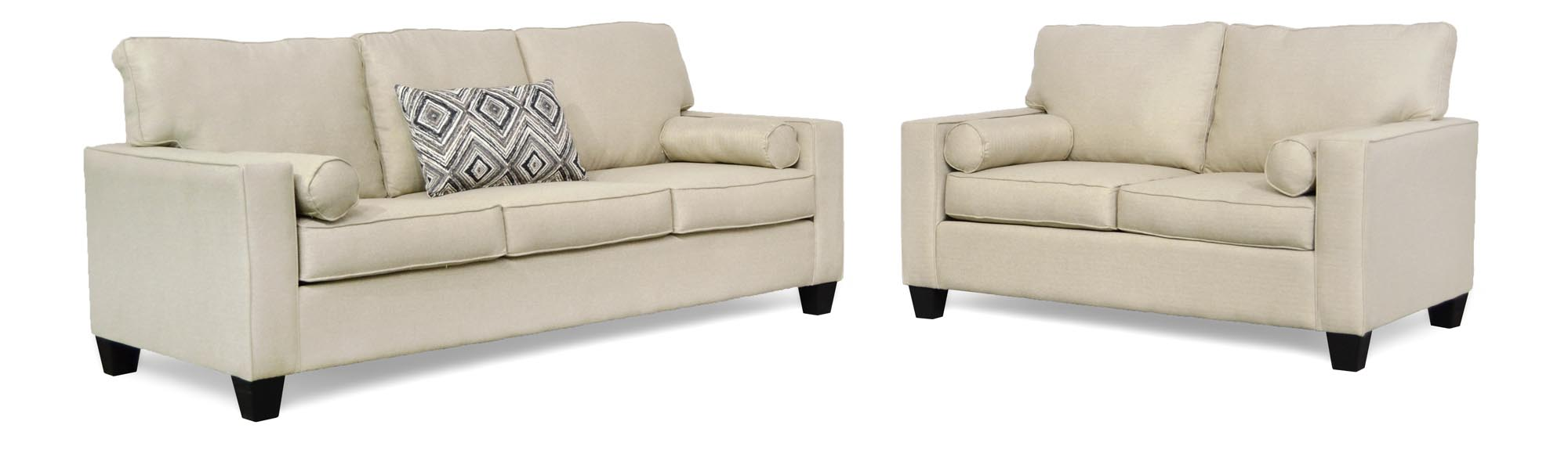 1260 Delilah Collection Sofa and Loveseat $795