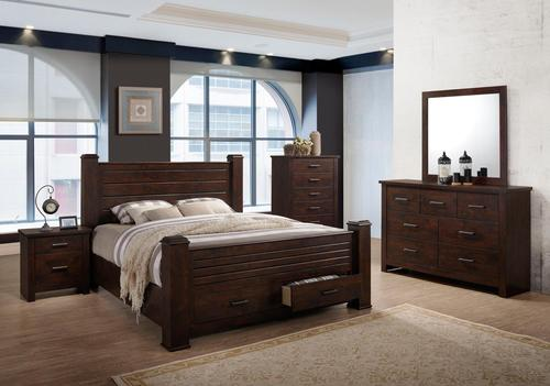 BR6413 Elijah Bedroom Collection - King $1179