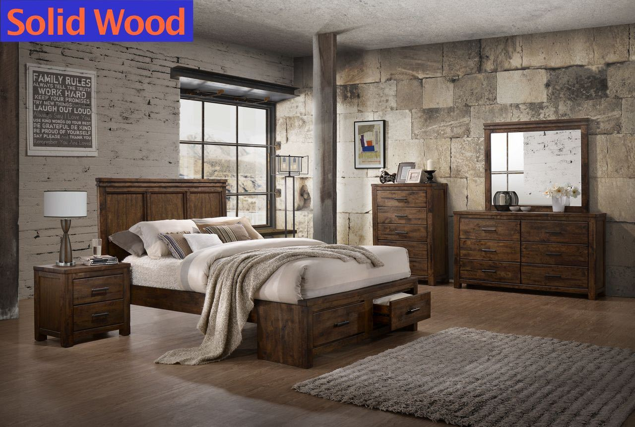 Lifestyle B6377 Queen Storage Bedroom Group $1199