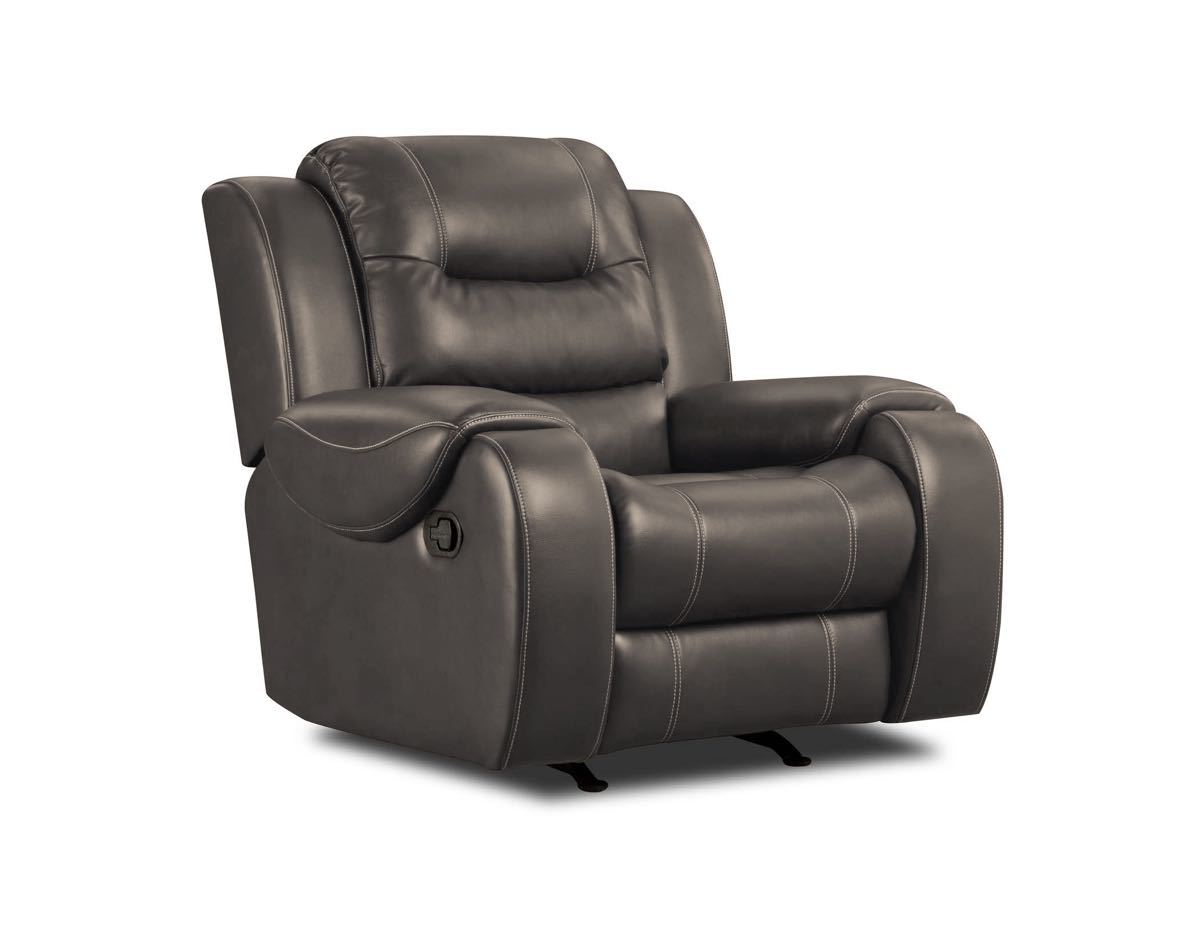 71407 Rocker Recliner in Jamestown Smoke $435