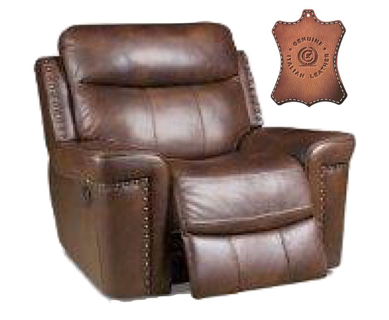90301 Rocker Recliner: Softie Driftwood $359