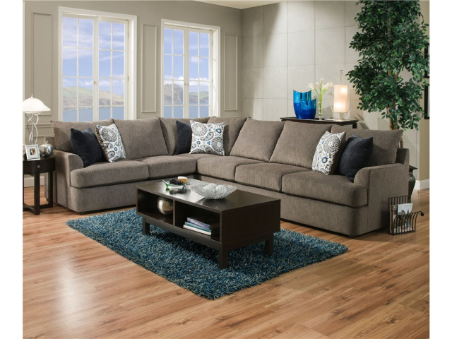8540 Grandstand by Simmons Sectional $1095
