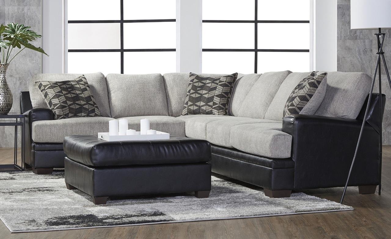 2 Piece Sectional Sofa - San Marino Ebony    $995.99