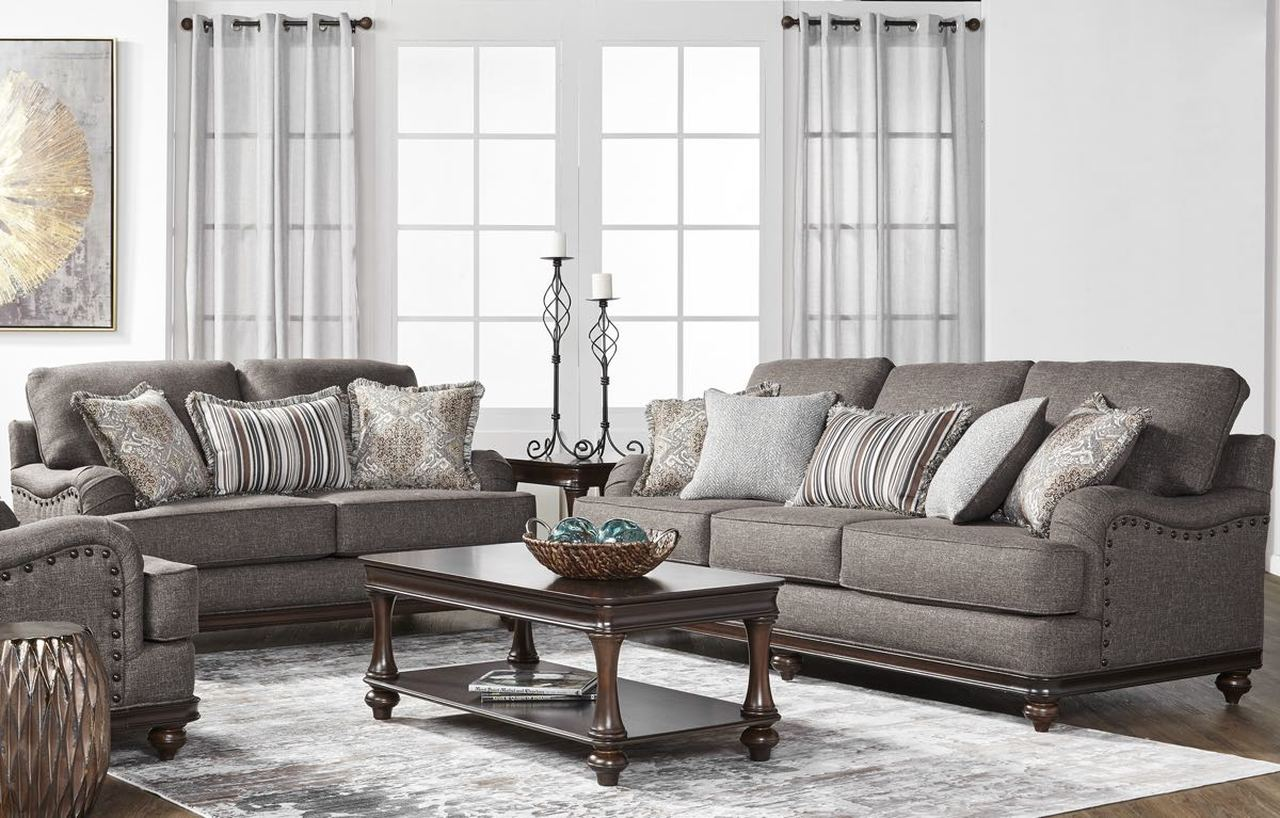 17200 Sofa & Loveseat: Phineas Driftwood $1090