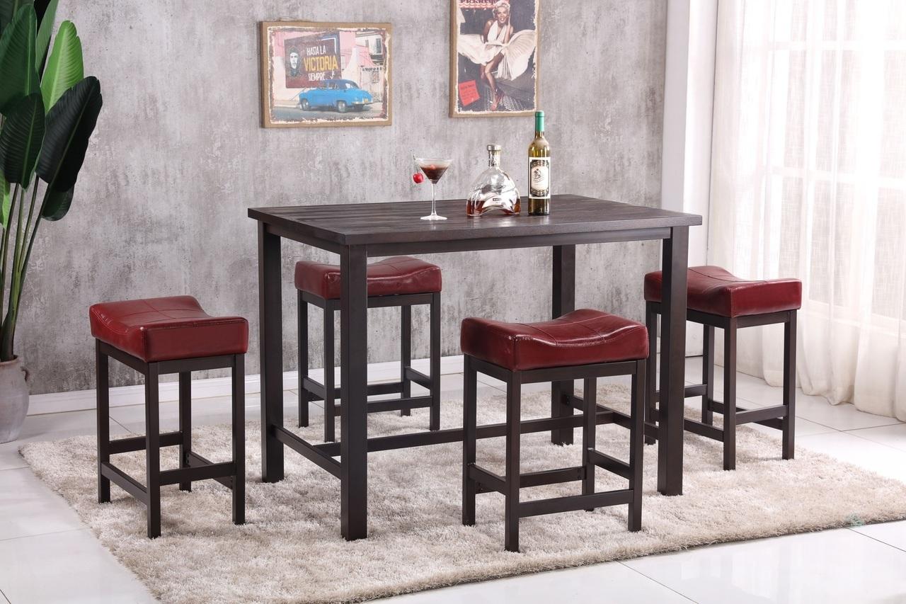8701 Pub Dinette: Red $198