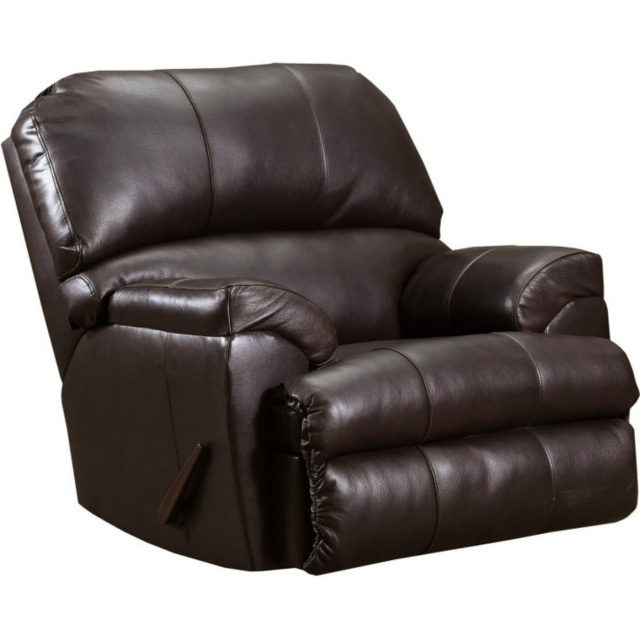 14010 LEATHER Touch Recliner in Soft Touch Bark $779.99