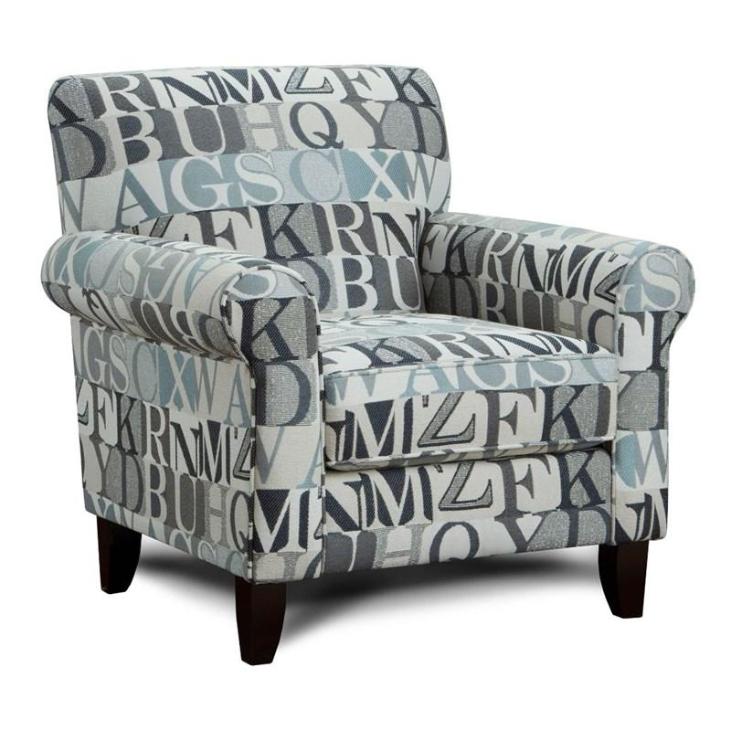 502 Anecdote Blue Accent Chair $399