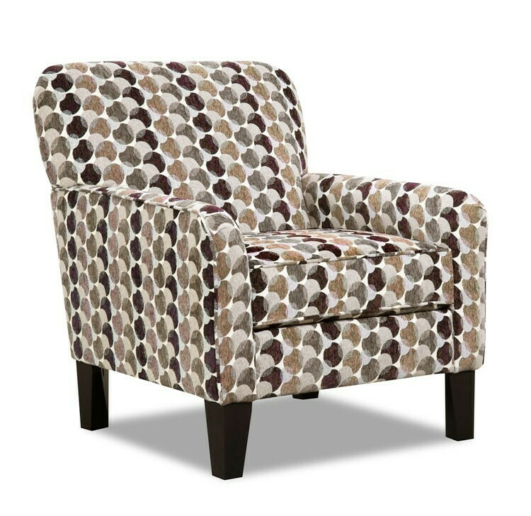 2153 Bubbles Coffee Accent Chair $399