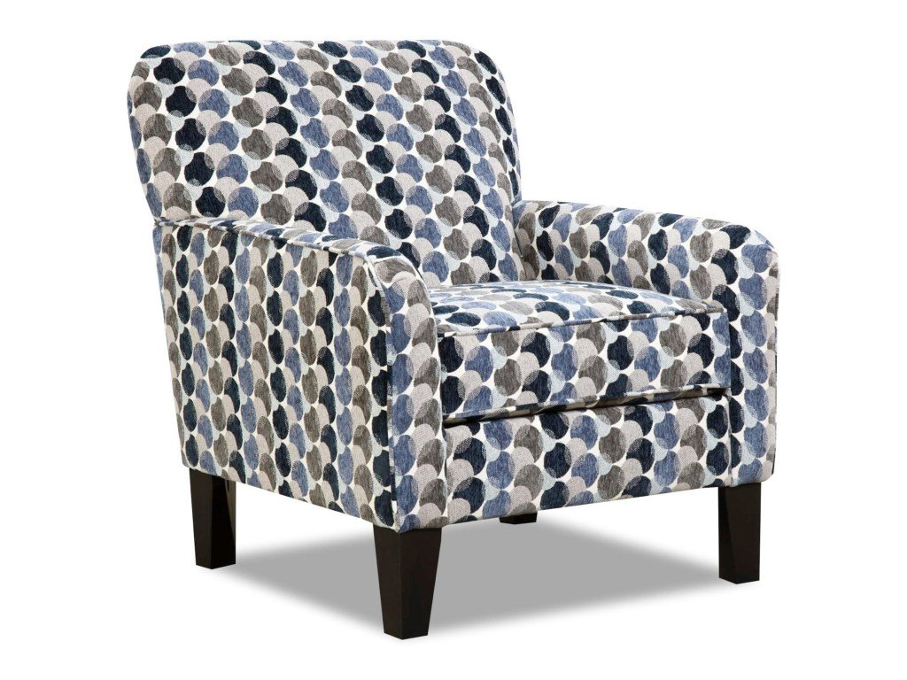 2153 Bubbles Ink Accent Chair $399