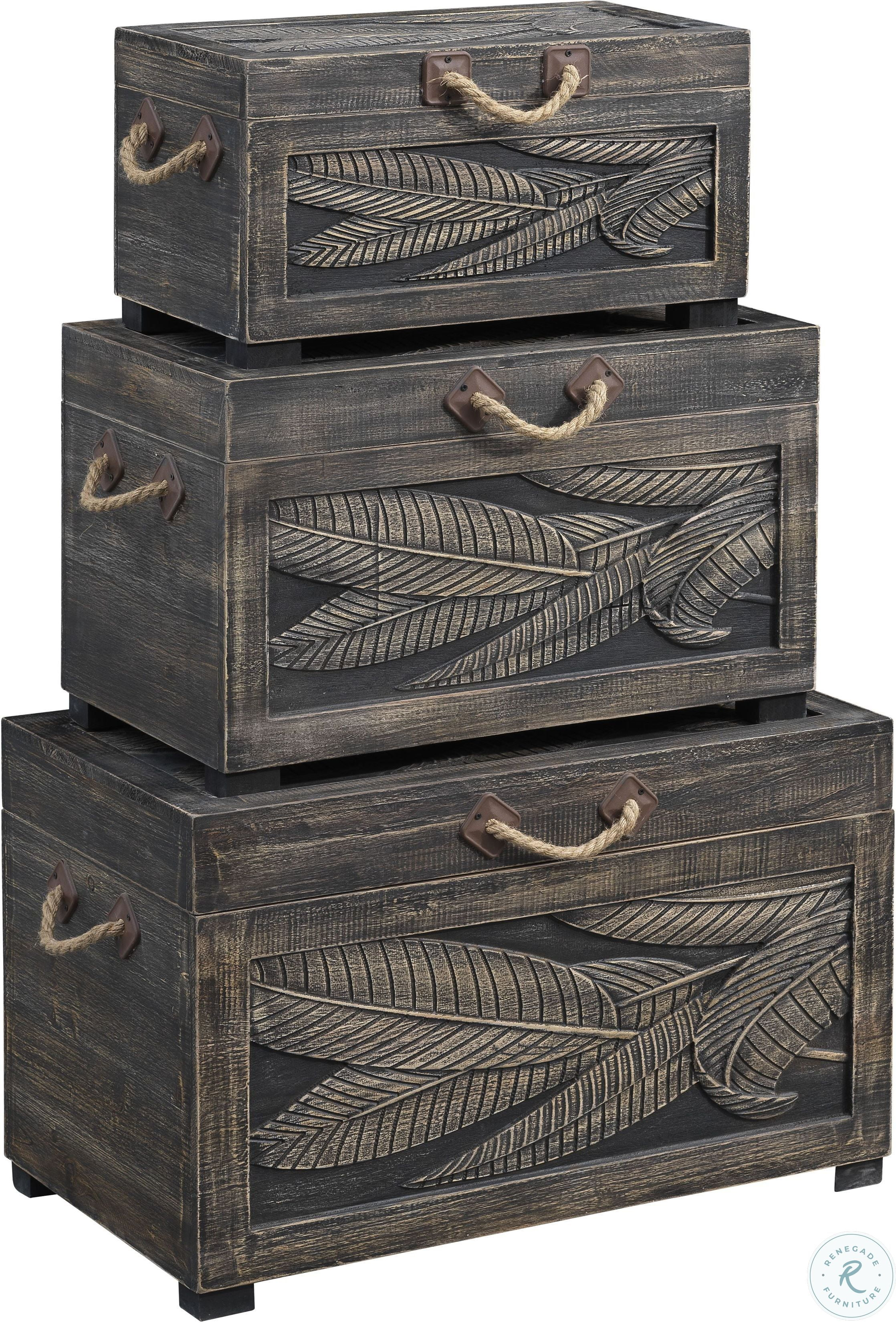 48144 3-Piece Nesting Trunks $399.99
