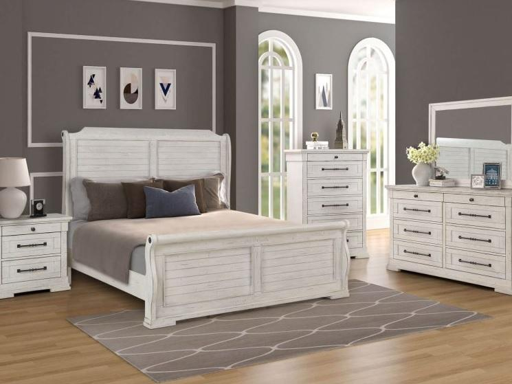 8047 Ridley 5 Piece Sleigh Bed - King $1995.99