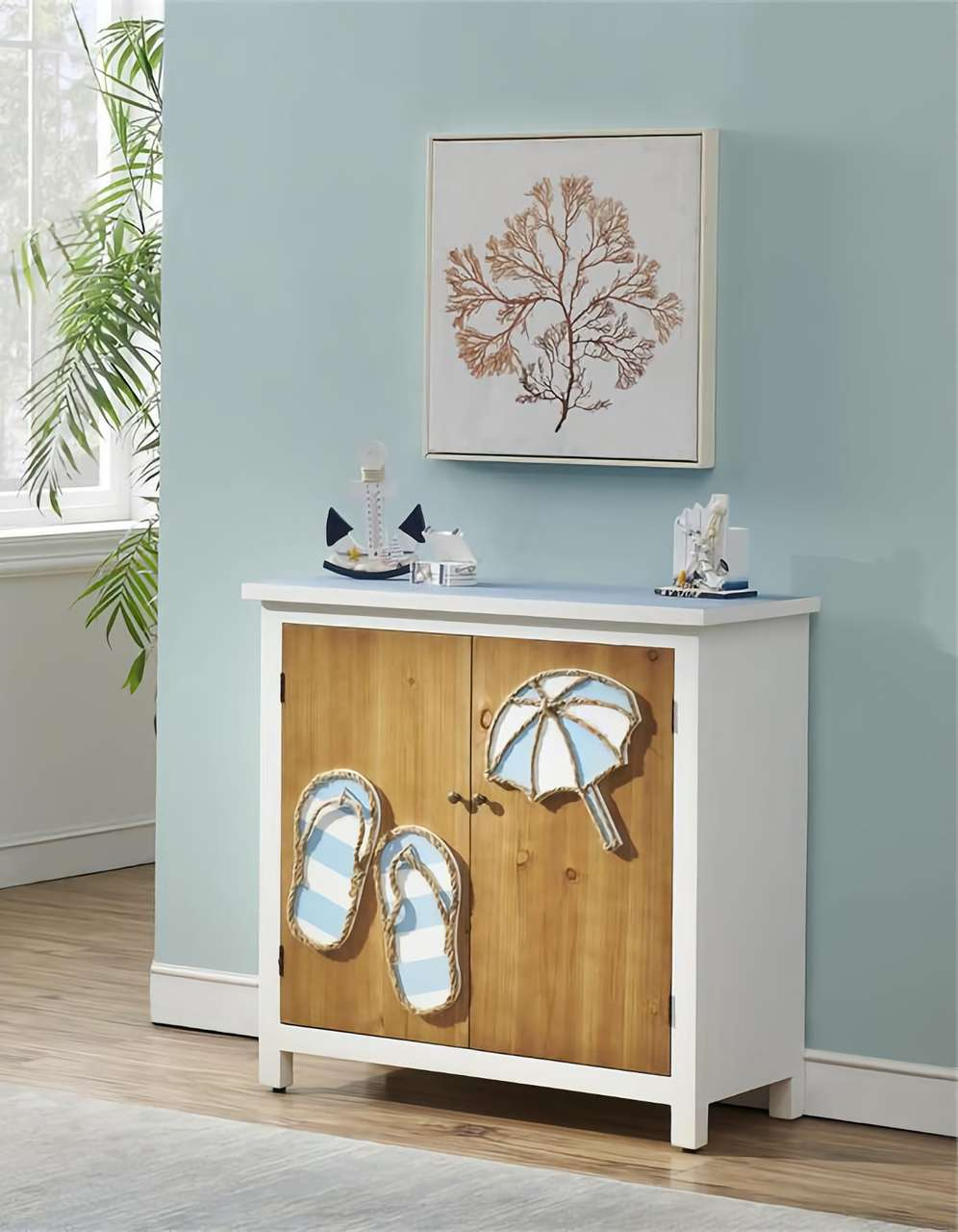 51523 Two Door Cabinet Beach Chest  $359